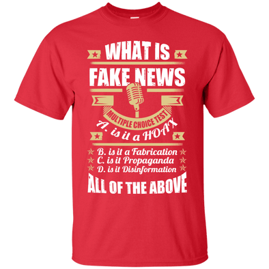 Political - Fake News (5) Tee