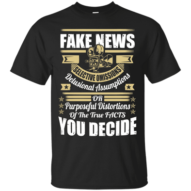 Political - Fake News (7) Tee