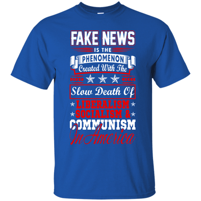 Political - Fake News A Tee