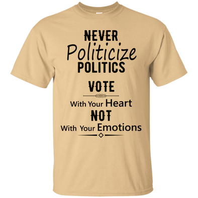 Political - Vote With Heart (2) Tee