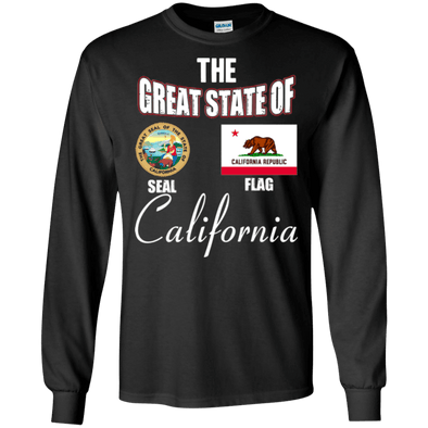 State Designs - California LS Tee