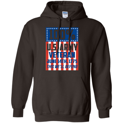 Sweatshirts - 100% Army Vet Pullover
