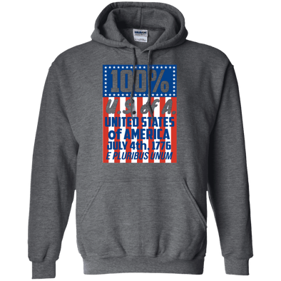 Sweatshirts - 100% U.S. Of A. Pullover