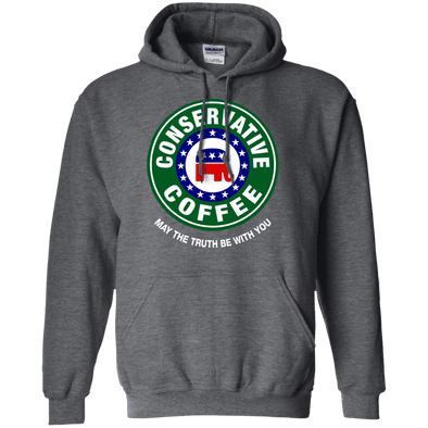 Sweatshirts - Conservative Coffee Pullover