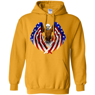 Sweatshirts - Eagle-Flag (1)  Pullover