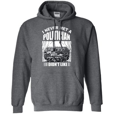 Sweatshirts - Meet A Politician Pullover
