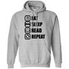 Sweatshirts - Read Repeat (2) Pullover