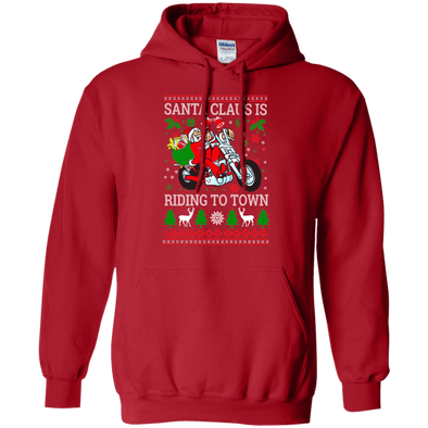 Sweatshirts - Santa Riding Pullover