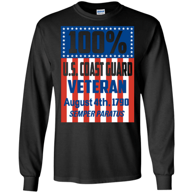 Veteran - 100% Coast Guard Vet LS