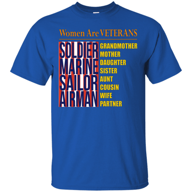 Veteran - Female Veteran Tee
