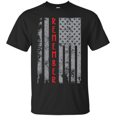 Veteran - Flag-Remember Tee