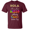 Words - Hello X6 Tee