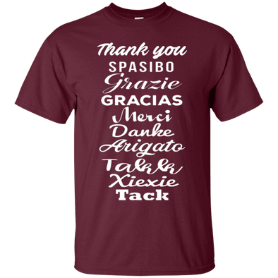 Words - Thank You X 10 Tee