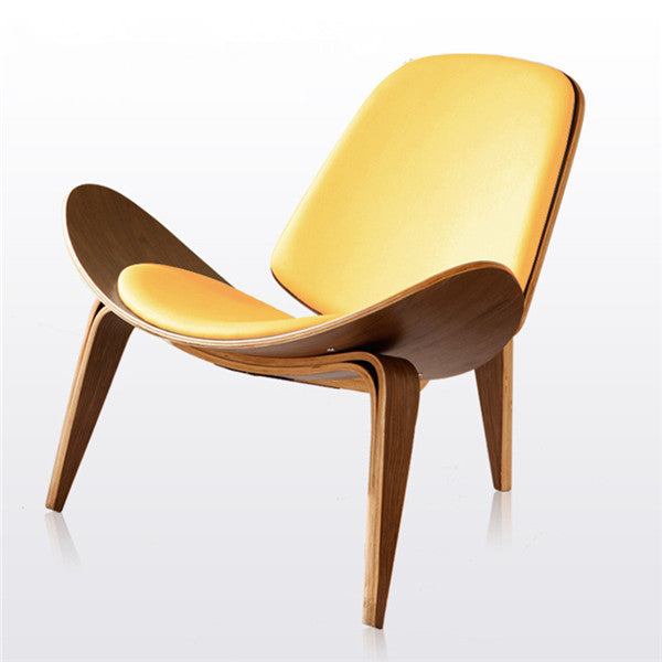 ... Hans Wegner Style Three Legged Shell Chair