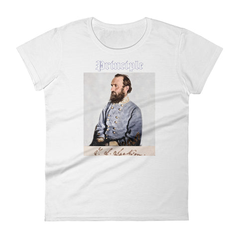 White Stonewall Jackson Shirt
