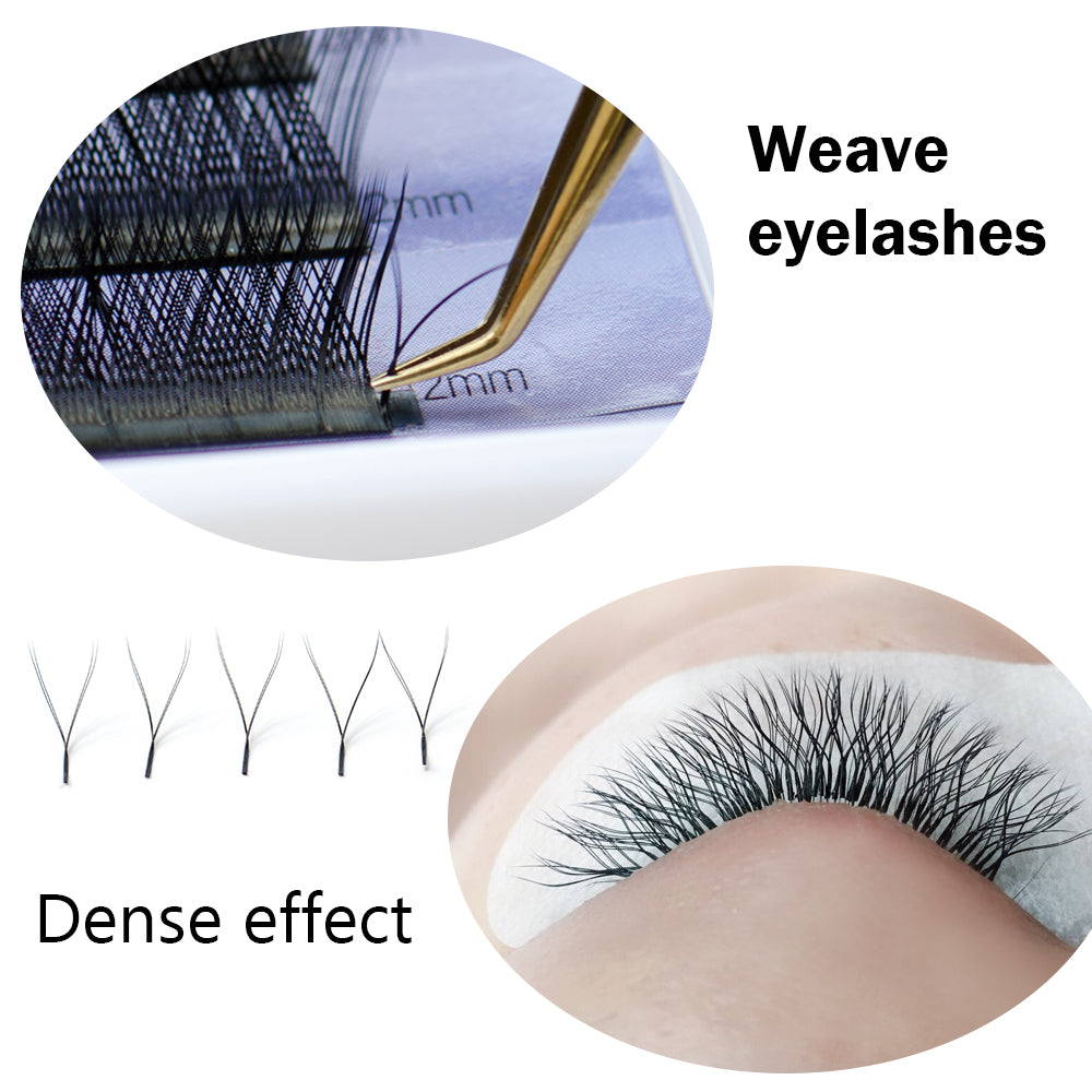 Nagaraku Y Shape Volume Individual Eyelash Extensions For Weaving And