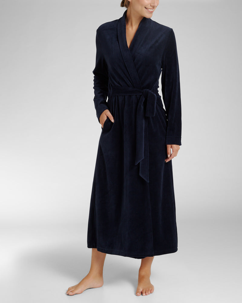 Cyell Soft Velours | Bathrobe - Lalingerie.ca Lalingeire.ca, Canada, , small, medium, large, extra large, Cyell, pyjamas, homewear, sleepwear, bathrobes, swimwear, bikini, bikini top, bikini bottom,