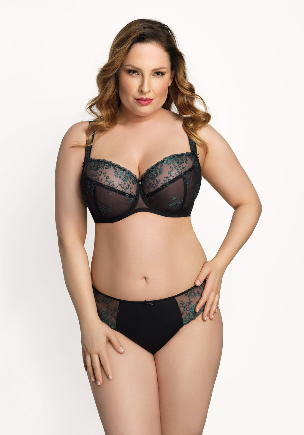 Angelina by Corin Lingerie | Perfect Full Cup Bra Green