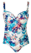 iakari by corin, one piece floral bathing suit. lalingerie.ca free shipping over $75 across canada
