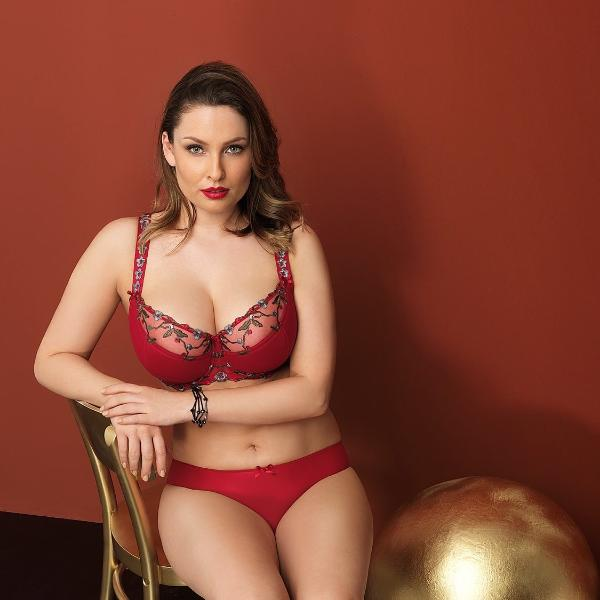 JACQUELINE by Corin full cup bra 10875 full brief undearwear 03875 ruby lalingerie.ca