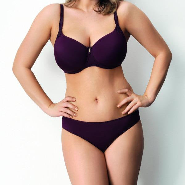 Virginia by Corin Lingerie | Aubergine Full Brief underwear lalingerie.ca canada