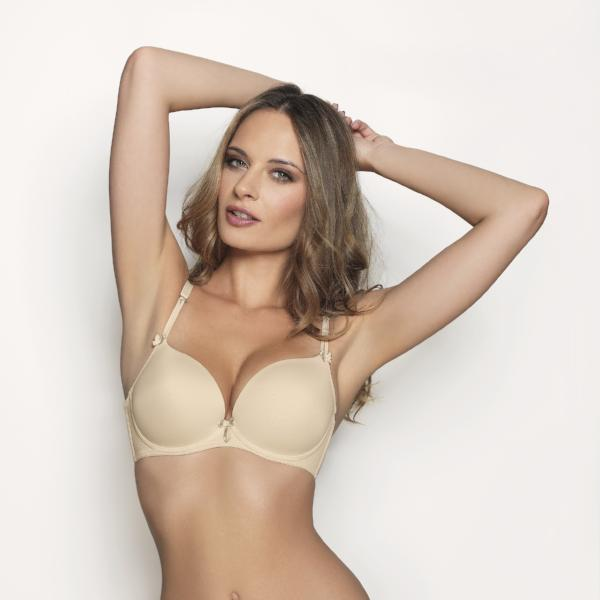 Virginia by Corin Lingerie | Skin Push up Bra @lalingerie.ca
