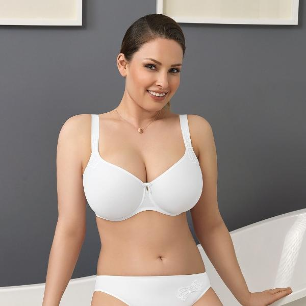 Virginia by Corin Lingerie | White T-shirt Bra @lalingerie.ca