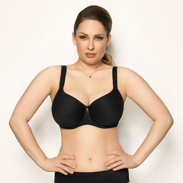 Virginia by Corin Lingerie | Black T-shirt Bra @lalingerie.ca