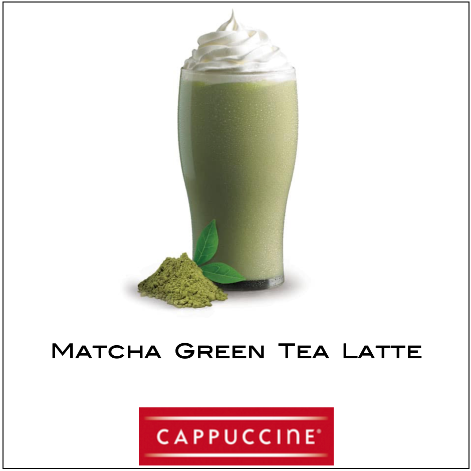 Cappuccine- Matcha Green Tea Latte