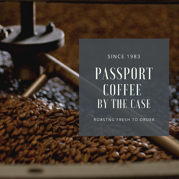 Passport Case Coffee- Passport House Blend