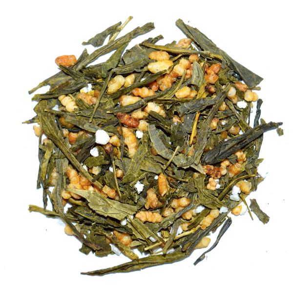 Japanese Genmaicha with Roasted Rice Green Tea