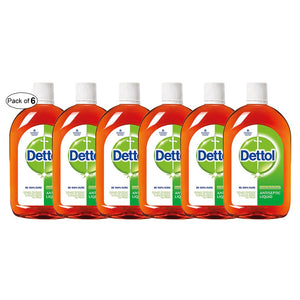Dettol Antiseptic Liquid 16.90 oz (Pack Of 6)