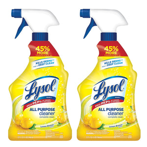 Lysol All Purpose Cleaner, Lemon Breeze, 32 oz (Pack Of 2)