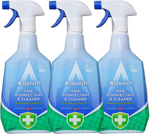 Astonish Pine Multisurface Disinfectant & Cleaner Spray, 25.3 Ounce (Pack of 3)