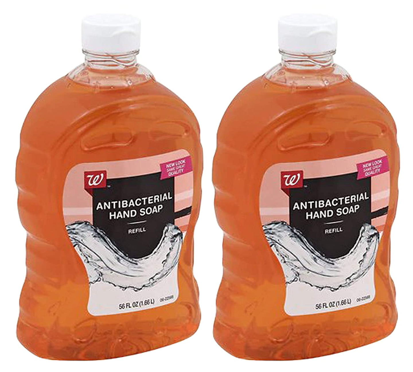 Walgreens Antibacterial Hand Soap Refill, 56 Ounces (Pack of 2)