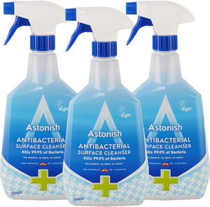 Astonish Antibacterial Household Surface Spray Cleaner, 25.3 Ounce (Pack of 3)