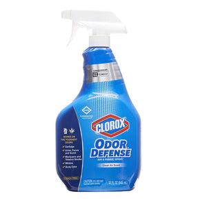 Clorox Odor Defense Air & Fabric Spray, Clean Air Scent, 32 Ounce
