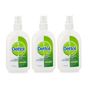 Dettol Antiseptic Wash Skin Wound Spray, 3.4 Ounce (Pack of 3)
