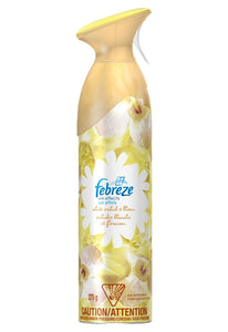 Febreze Effects 9.7 oz Spray Can Tough Odor Eliminator & Air Freshener, White Orchid & Bloom