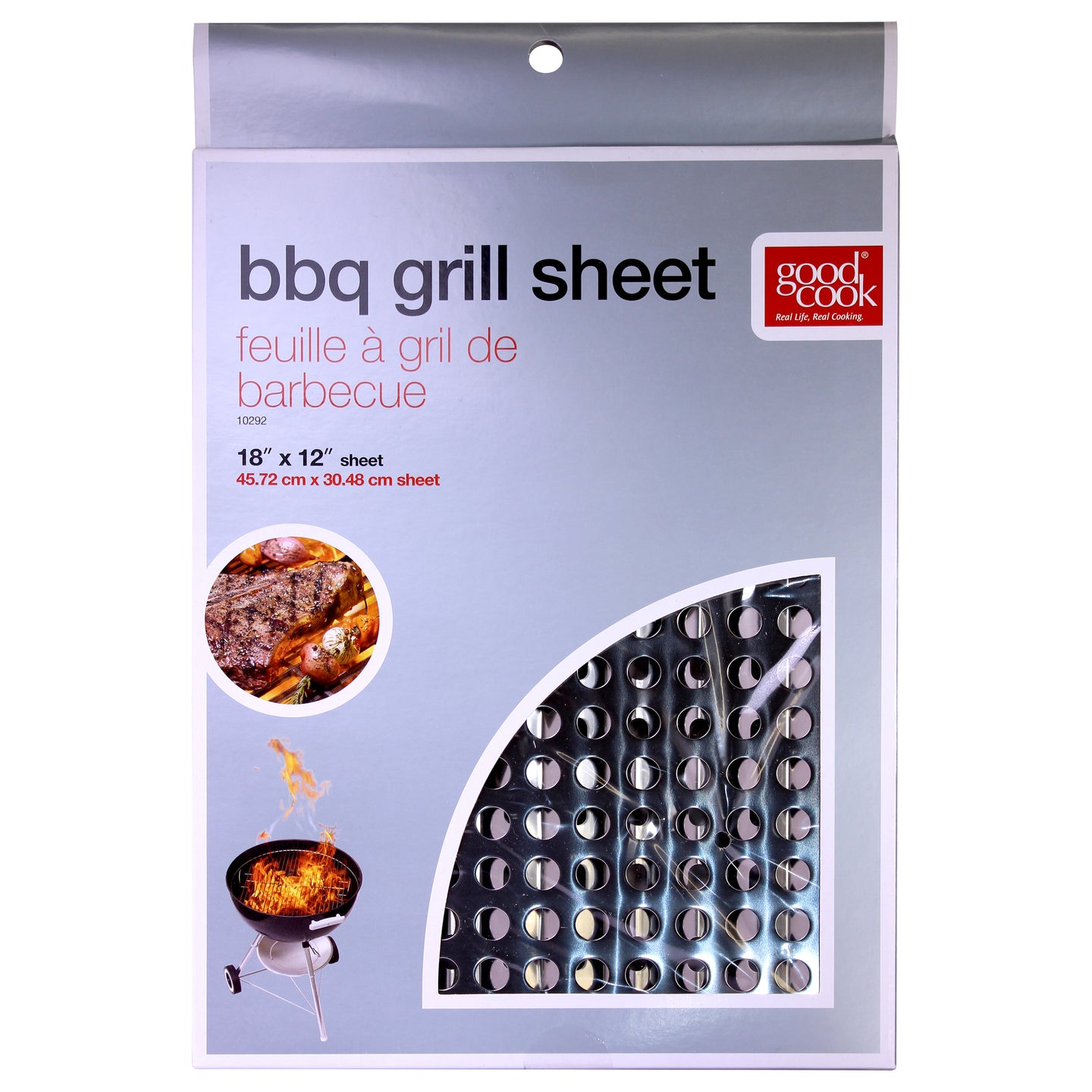 Good Cook Disposable Barbecue Grill Sheet, BBQ Topper  18