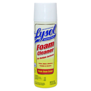 Lysol Professional Foam Cleaner for Multiple Surfaces, 24 Ounce