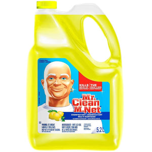 Mr. Clean M. Net Multi-Surface Disinfectant Liquid Cleaner, Summer Citrus, 176 Ounce