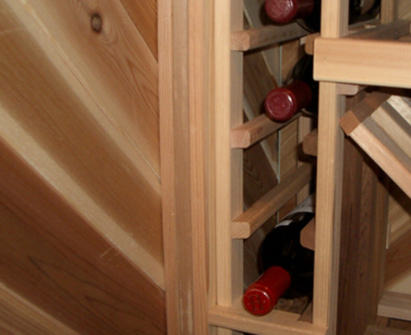 tacky spacer cheats for wine cellar racking that does not fit