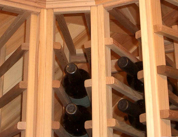 Wine cellar racking tacky double vertical cheats for semi custom systems