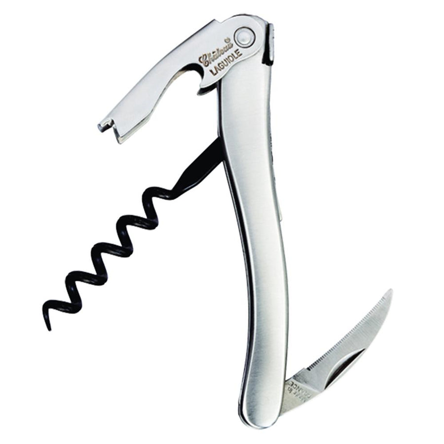 Chateau Laguiole Corkscrew Stainless Steel Handle Waiters