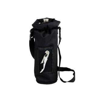 Grab & Go™ Insulated Bottle Carrier-Accessories-TrueBrands-Black-VinGrotto Wine Cellar Construction Company