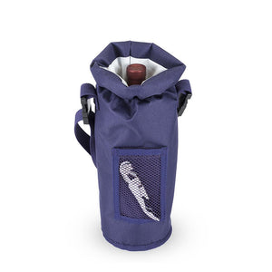 Grab & Go™ Insulated Bottle Carrier-Accessories-TrueBrands-Blue-VinGrotto Wine Cellar Construction Company