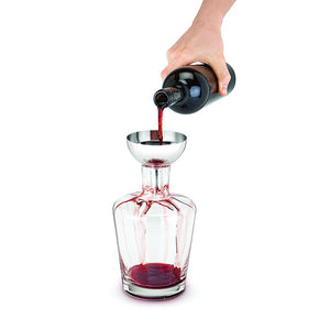 Fountain Aerating Decanter Funnel & Filter-Decanters-TrueBrands-VinGrotto Wine Cellar Construction Company