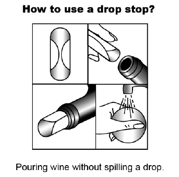 Wine Disc Foil Drop Stop Drip Not