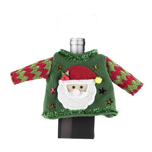 Ugly Christmas Sweaters for Wine Bottles-Accessories-TrueBrands-VinGrotto Wine Cellar Construction Company